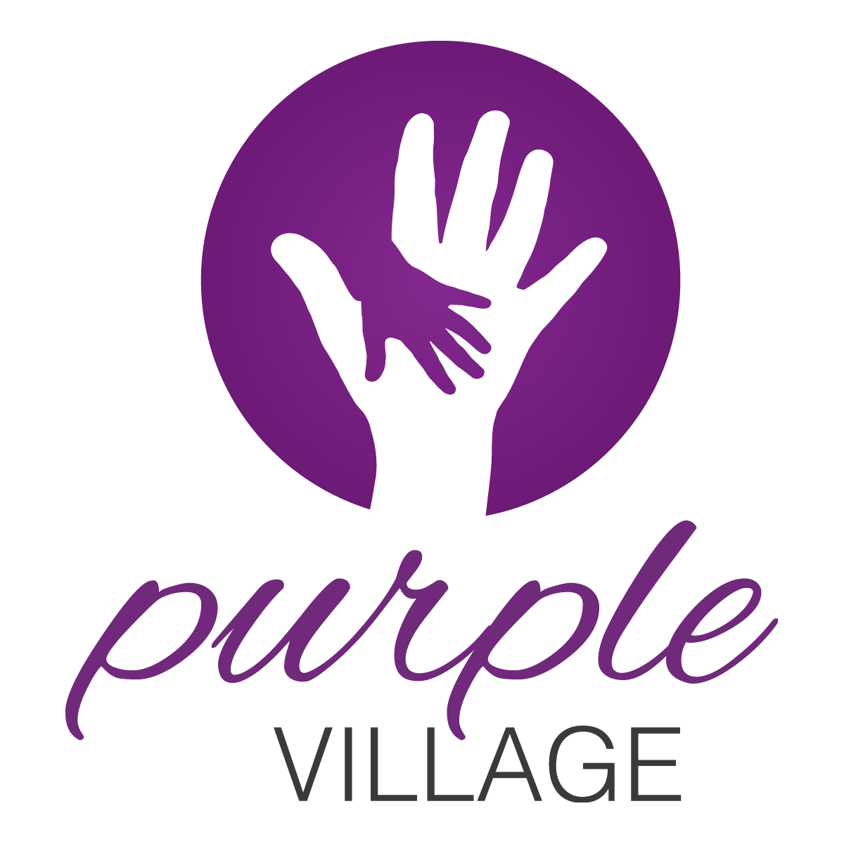 purple village final logo