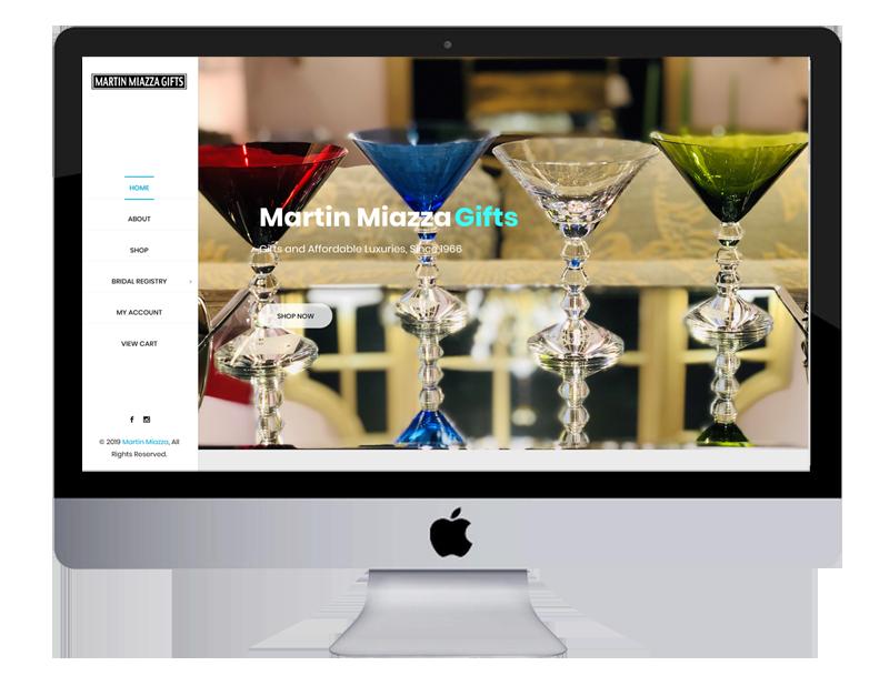 Martin Miazza Website